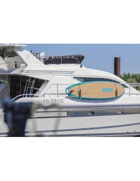 Soporte para tablas SUP. Soporte profesional para fijar un soporte SUP a la barandilla - Uship Alicante - Marine Expo