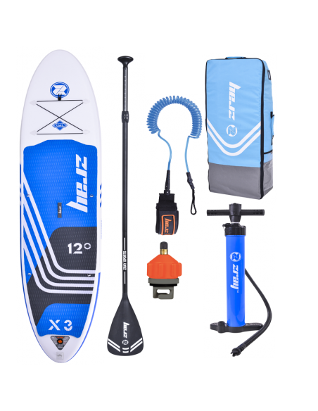 Stand Up paddle hinchable X Rider Zray X3 12'