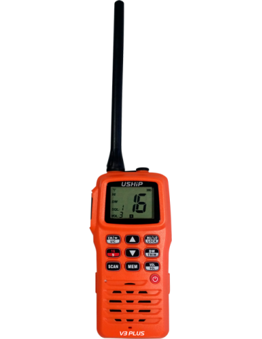 VHF Portátil USHIP V3 PLUS