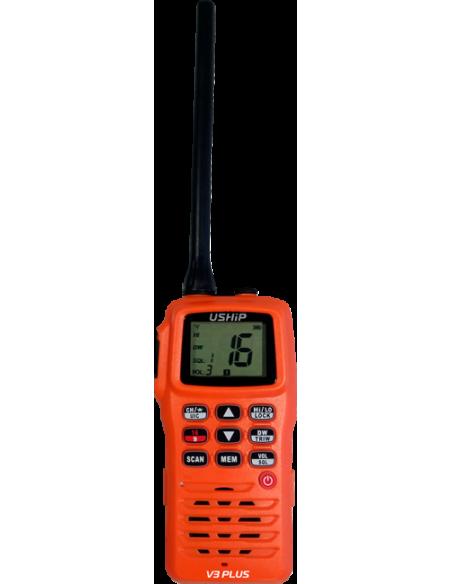 VHF Portátil USHIP V3 PLUS - USHIP Alicante - Tienda náutica