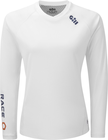 Camiseta mujer Race Mangas Largas - USHIP Alicante - Tienda náutica