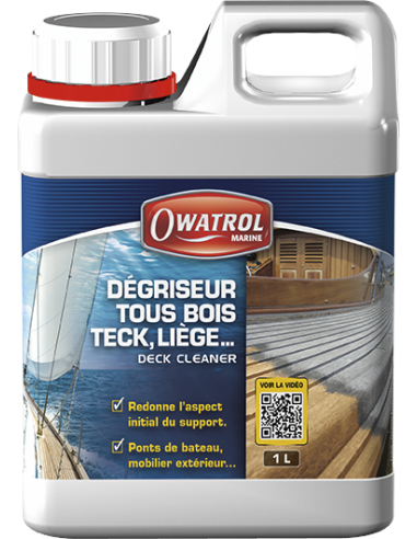 Restaurador de teca Deck Cleaner