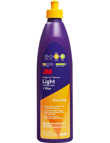 Pulimento light para GelCoat 3M - USHIP Alicante